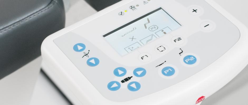 NewTom 5G Patienten Positionierung