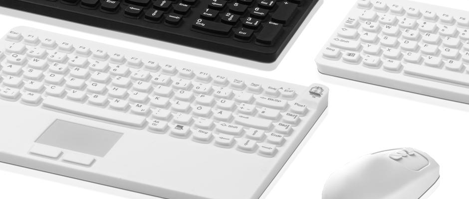 Man & Machine Tastatur und Maus: Modellvarianten