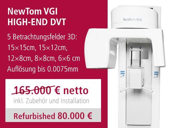DVT-Angebot NewTom VGI gebraucht DVT