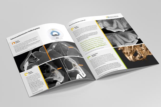 Broschüre zum 3D-Röntgen in der Veterinärmedizin DVT