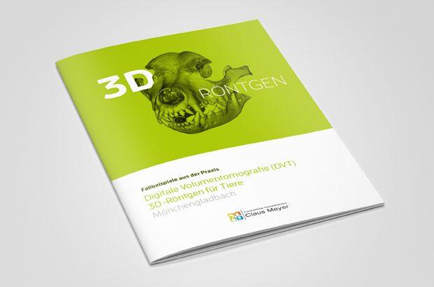 Broschüre zum DVT 3D-Röntgen in der Veterinärmedizin - Tiermedizin von hillus Engineering